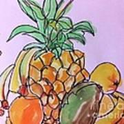 Tropical Snack Art Print