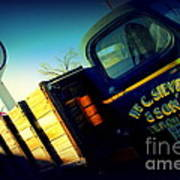 Truck On Route 66 Art Print