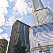 Trump Tower Grabs The Sky Art Print
