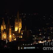 Truro Cathedral Illuminated Art Print