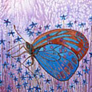 Trust Butterfly Art Print