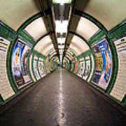 Tube Tunnel Art Print