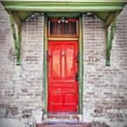 Tucson Red Door Art Print