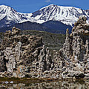 Tufa At Mono Lake California Art Print