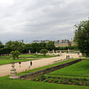 Tuileries Gardens 4 Art Print