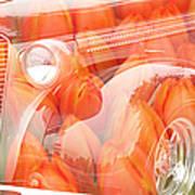 Tulip Car Abstract Art Print