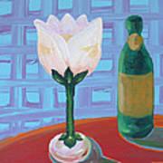 Tulip Champagne Art Print