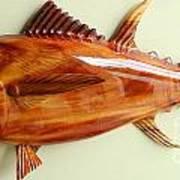Tuna Sculpture Art Print