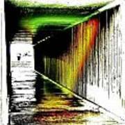 Tunnel Of Colour Art Print