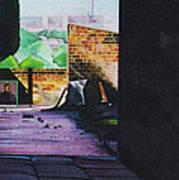 Tunnel Vision 4 Art Print