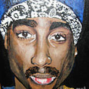 Tupac Poster By Bobbi West