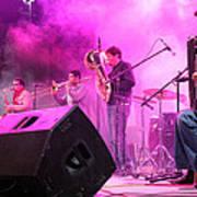 Turab Band At 1st Nativity International Christmas Festival Art Print