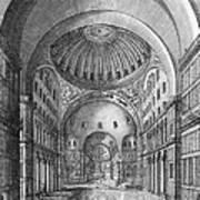 Turkey: Hagia Sophia, 1680 Art Print