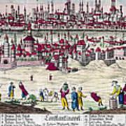 Turkey: Istanbul, C1820s Art Print