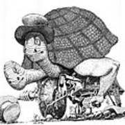 Turtle Thing Art Print