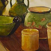 Tuscan Vases And Pots Art Print