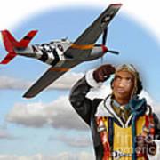 Tuskegee Airman Art Print
