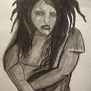 Twiggy Art Print by Brittney Wallace