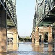 Twin Bridges Art Print