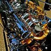 Twin Engines Art Print