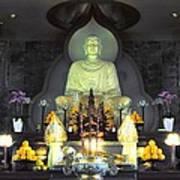 Twisted Buddha Art Print