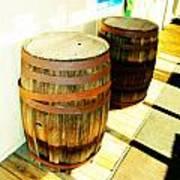 Two Barrels 2 Art Print