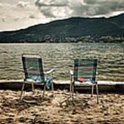 Two Chairs Art Print by Joana Kruse