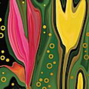 Two Flowers Art Print