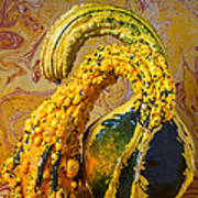 Two Gourds Art Print