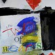 Two Of Hearts 37-52 Art Print