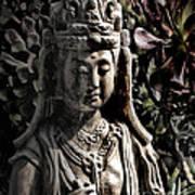 Two Sides Of Buddha Art Print
