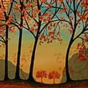Two Small Trees Art Print