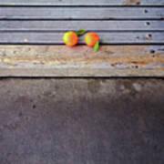 Two Tangerines Art Print