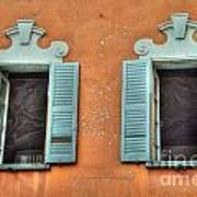 Two Windows Art Print
