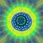 Tye Dye Eyeball Art Print