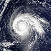 Typhoon Higos Art Print