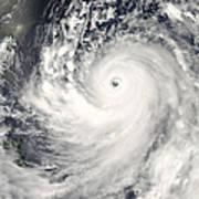 Typhoon Man-yi Art Print