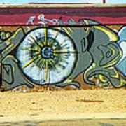 Typical Urban Fence 3 Art Print