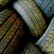 Tyres Art Print