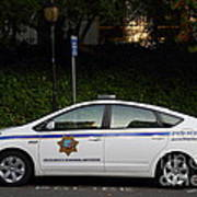 Uc Berkeley Campus Police Car  . 7d10181 Art Print