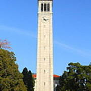 Uc Berkeley . Sather Tower . The Campanile . 7d10050 Art Print