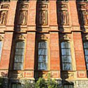 Uc Berkeley . South Hall . Oldest Building At Uc Berkeley . Built 1873 . 7d10111 Art Print