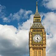 Uk, England, London, Big Ben Art Print