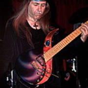 Uli Jon Roth And His Sky Guitar Art Print