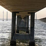 Under Seven Mile Bridge Art Print