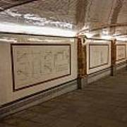 Under Southwark Bridge Art Print