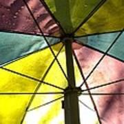 Under The Umbrella Art Print
