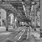 Under Wabash Avenue Art Print