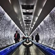 Underground Network Art Print