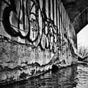 Underneath The Bridge Art Print